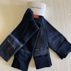 Calvin Klein Combed Cotton Dress Socks 7-12